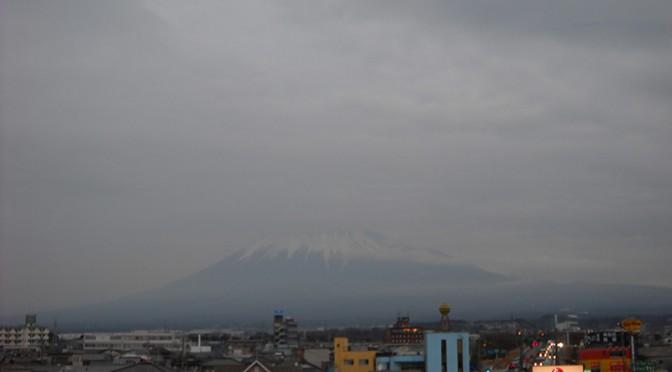【2018年2月21日 今日の富士山】