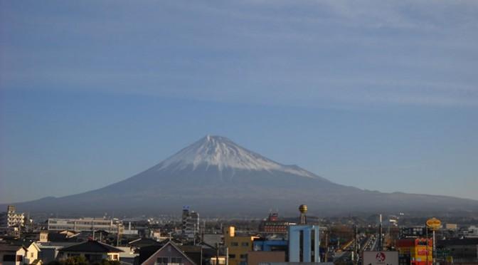 【2018年3月3日 今日の富士山】
