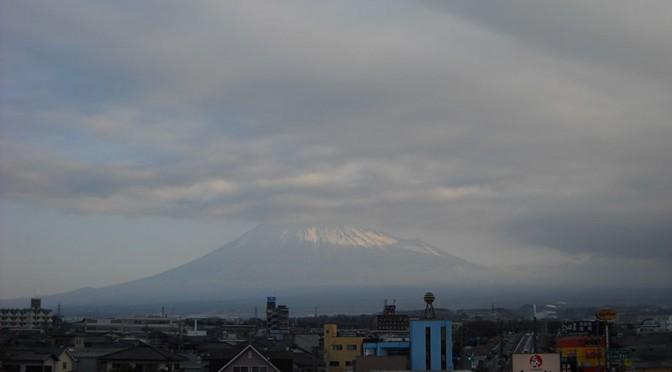 【2018年3月4日 今日の富士山】