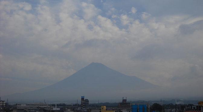 【2018年9月6日 今日の富士山】