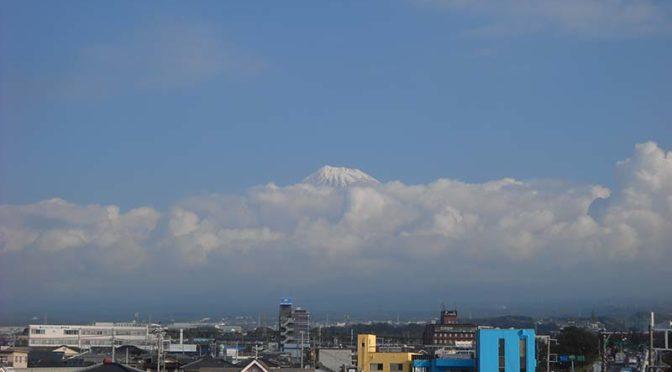 【2018年10月25日 今日の富士山】