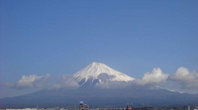 【2019年3月12日 今日の富士山】