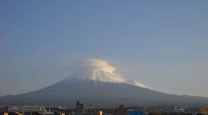 【2019年3月13日 今日の富士山】
