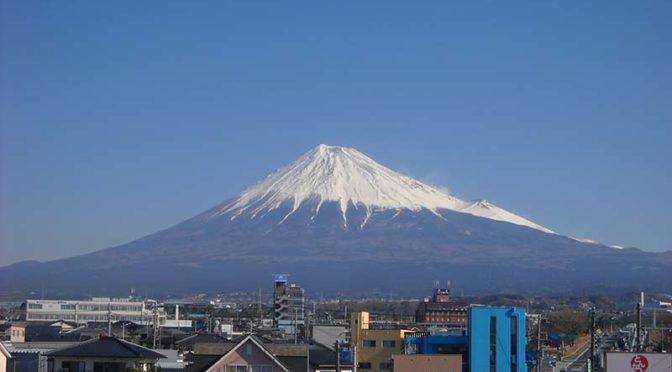 【2019年3月14日 今日の富士山】