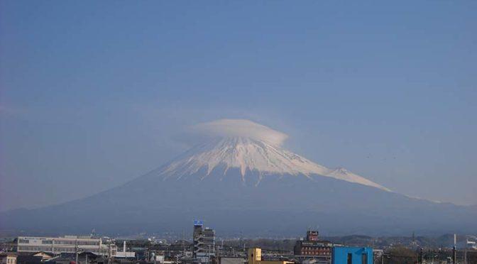 【2019年3月16日 今日の富士山】