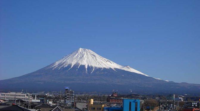 【2019年3月18日 今日の富士山】