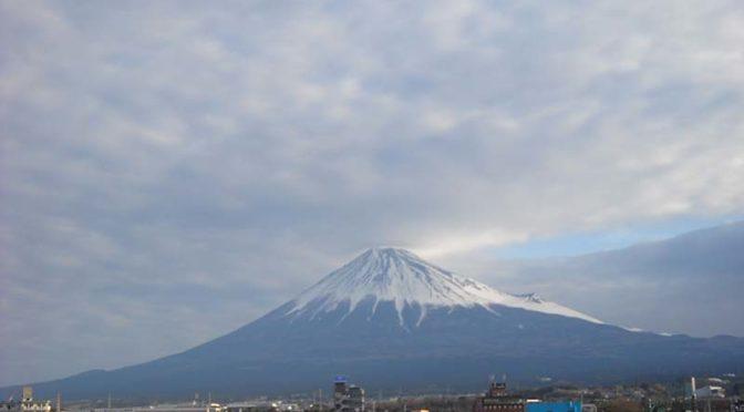 【2019年3月19日 今日の富士山】