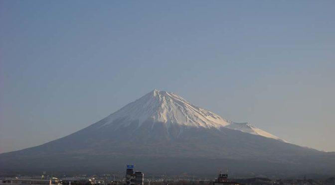 【2019年3月20日 今日の富士山】