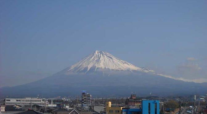 【2019年3月25日 今日の富士山】