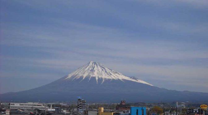 【2019年4月5日 今日の富士山】