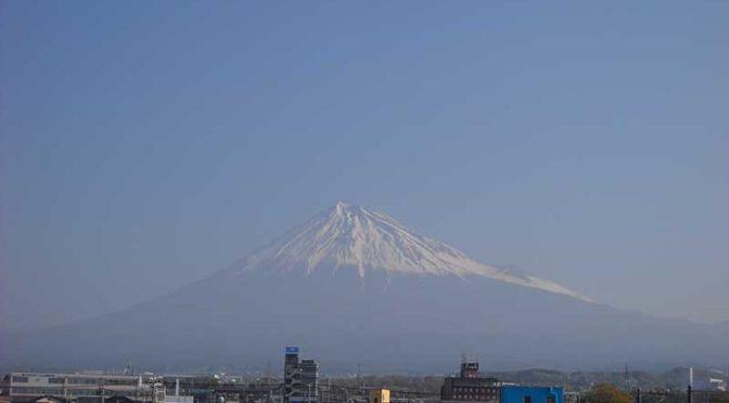 【2019年4月6日 今日の富士山】