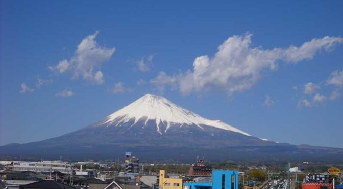 【2019年4月15日 今日の富士山】