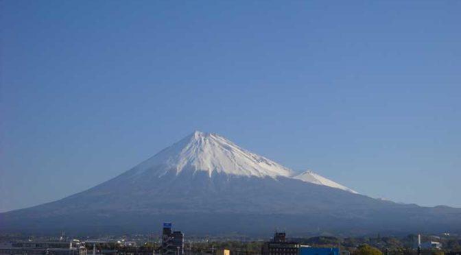 【2019年4月16日 今日の富士山】