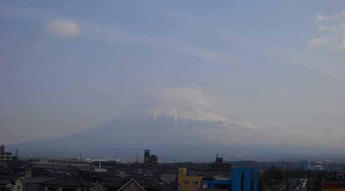 【2019年4月19日 今日の富士山】