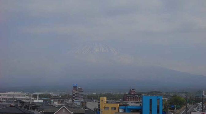 【2019年4月23日 今日の富士山】