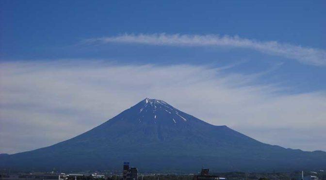 【2019年6月17日 今日の富士山】