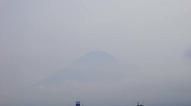 【2019年7月18日 今日の富士山】