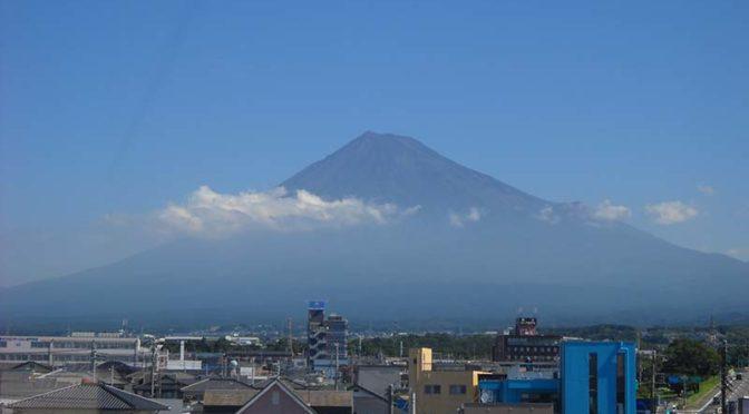 【2019年8月5日 今日の富士山】