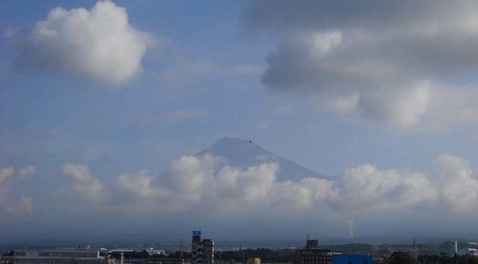 【2019年8月7日 今日の富士山】