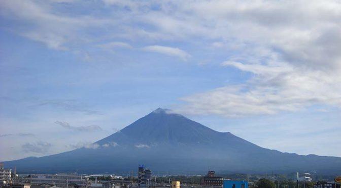 【2019年8月12日 今日の富士山】