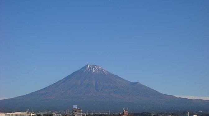 【2019年11月7日 今日の富士山】