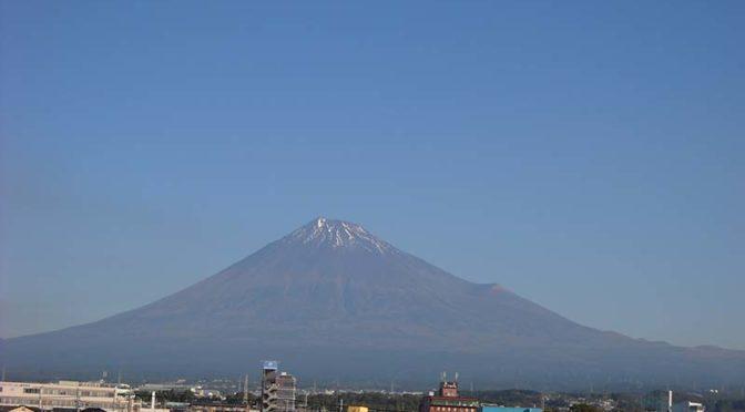 【2019年11月8日 今日の富士山】