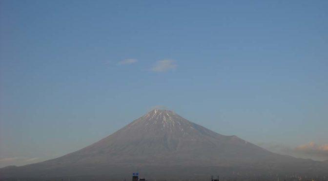 【2019年11月18日 今日の富士山】