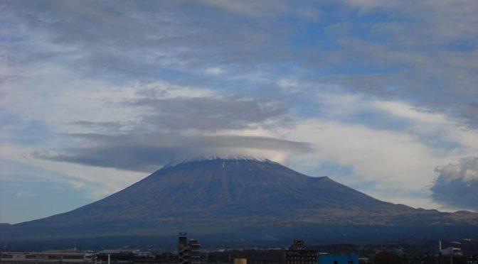 【2019年11月25日 今日の富士山】