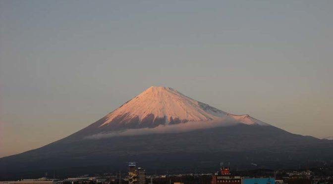 【2019年12月22日 今日の富士山】