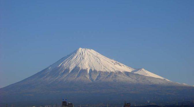 【2019年12月25日 今日の富士山】