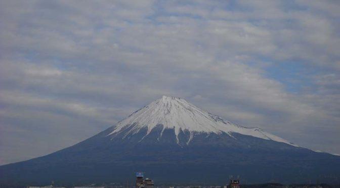 【2019年12月27日 今日の富士山】