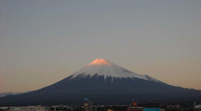 【2020年1月8日 今日の富士山】