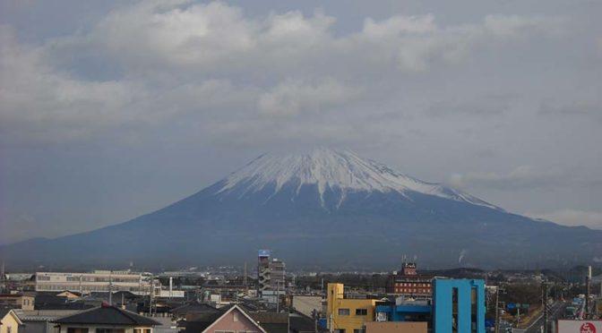 【2020年1月17日 今日の富士山】